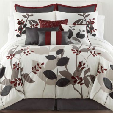 Home Expressions Marissa Floral 10 Pc Comforter Set Found At Jcpenney Bedroom Pinterest