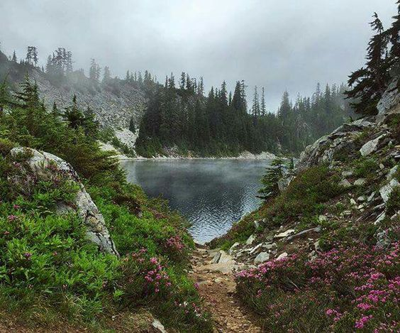 Snow Lake hike by Snoqualmie Pass