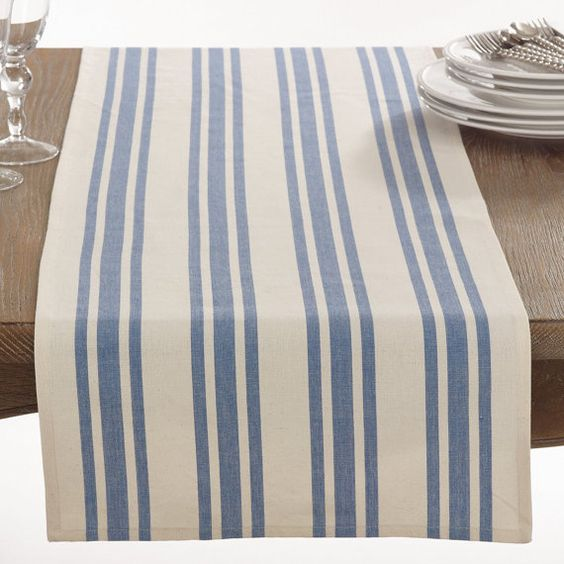 Dauphine Collection Table Runner Cotton Table by ilovecraftsy