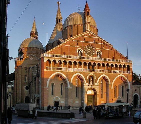 Basilica Di Sant Antonio Di Padova Pádua Italia Viagens