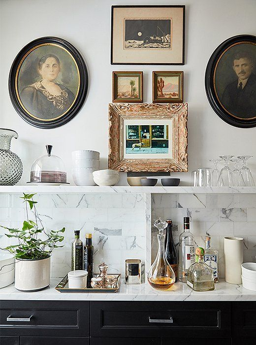 A Designer S Respectful Renovation Of A Historic Manhattan Home In 2020 Home Bar Decor Vintage Industrial Decor Bars For Home