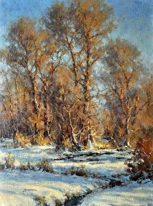 Shadows of Winter by Greg Scheibel