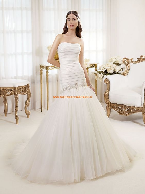 Wunderschöne Elegante Brautkleider aus Softnetz