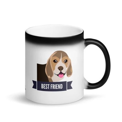 Beagle Best Friend Magic Mug Gifts For Dog Owners Dog Dad Gifts
