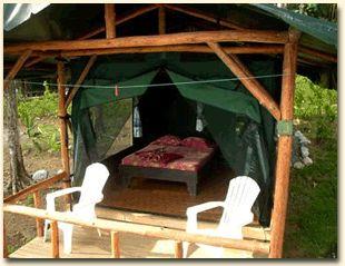 pole barn camping, just like my childhood