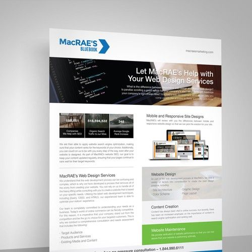 Media Kit For Seo Marketing Company Relaunched Into A Smaller Job With Additional 1 On 1 Jobs Product Descrip Business Design Web Design Services Web Design