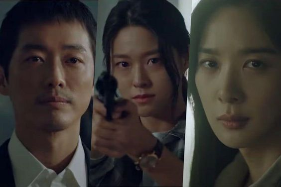 "Update: Namgoong Min, Seolhyun, And Lee Chung Ah Share Frightening Confrontations In New Drama ""Awaken"" Teasers"