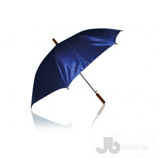 Plain Navy Umbrellas