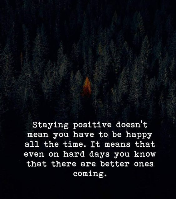 Staying Positive Is Strategy Positive Attitude