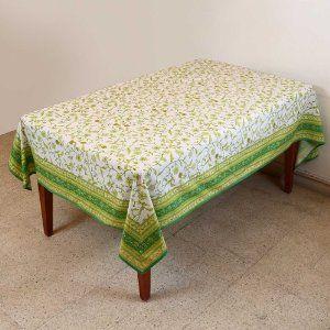 Tabla de verano mantel Rectangular 152 X 228 decoraciones Floral algodón: Amazon.es: Hogar