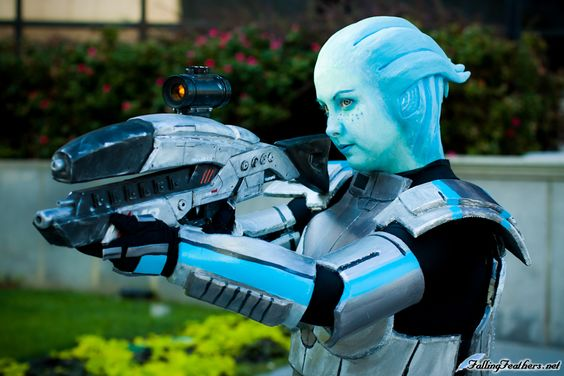 Mass Effect 3 - Liara  Throwin my cosplay out to pinterest