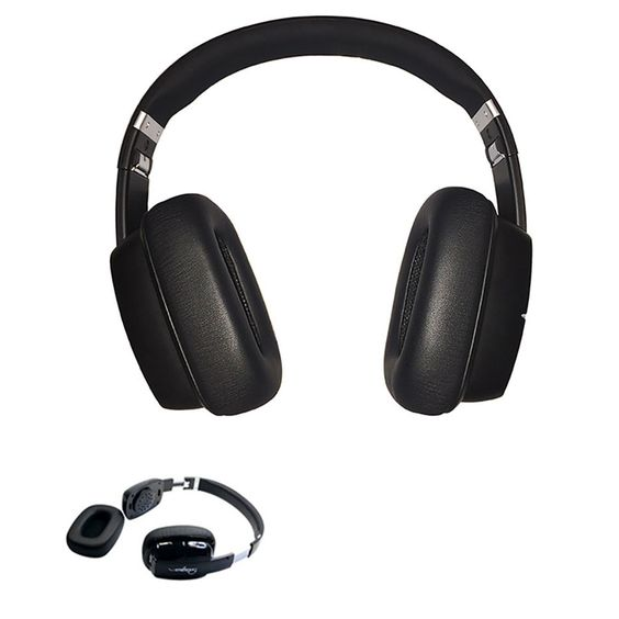 $128.67 (Buy here: http://appdeal.ru/dufl ) Wired Headband Noise Canceling Headphones With Microphone Removable Earmuff Earphone For PC Mobile Phone Mp3 Mp4 Player Headset for just $128.67