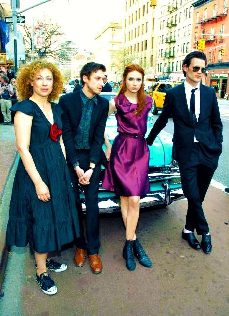 Doctor Who: Alex Kingston, Arthur Darvill, Karen Gillan and Matt Smith