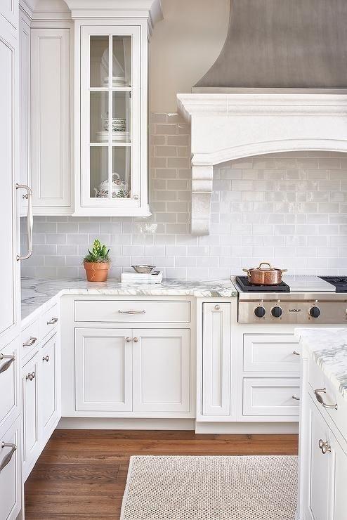 Backsplash Kitchen Cabinet Design Backsplash For White Cabinets