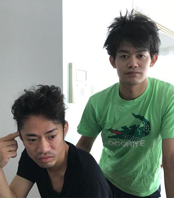 小塚崇彦さんと高橋大輔さん