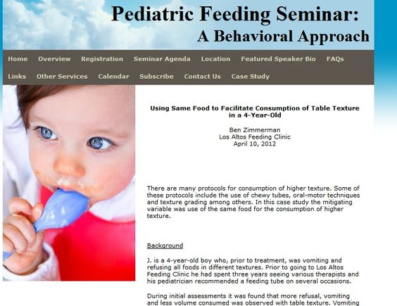 Pediatric Feeding Case Study: Using Same Food to Facilitate Consumption of Table Texture in a 4-Year-Old  - -  Pinned by @PediaStaff – Please Visit http://ht.ly/63sNt for all our pediatric therapy pins