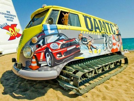 VW beach bus