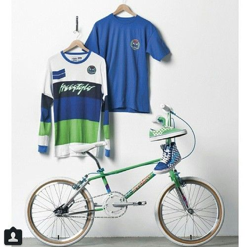 Vans shoes and Haro bikes. They kinda went hand in hand, back in the day.
