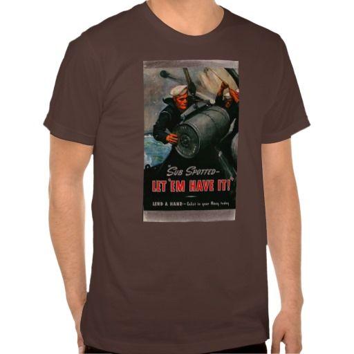Vintage War poster shirts