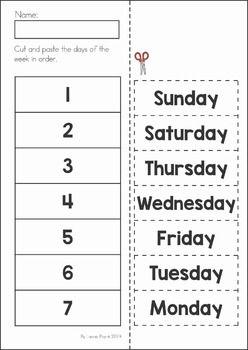 Days of the Week – 2 Worksheets / FREE Printable Worksheets ...