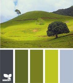 la Naturaleza verdes