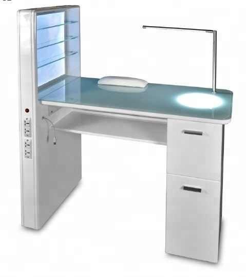Source Led Light Luxury Decoration White Salon Furniture Modern