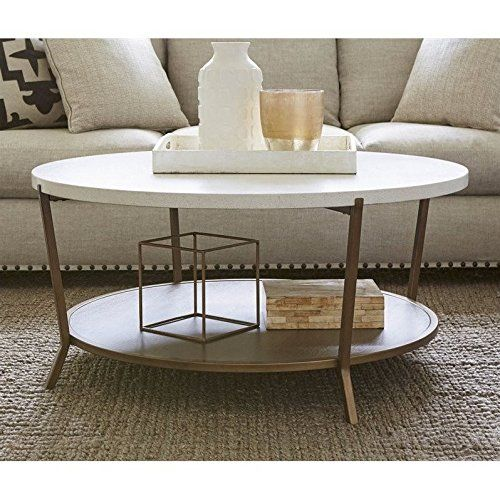 Universal Furniture Playlist Round Coffee Table In Brown Eyed Girl