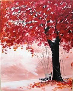 Painting with a twist grapevine love this tree fun for Painting with a twist charlotte nc