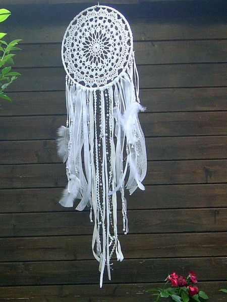 traumf nger mobiles vintage traumf nger dreamcatcher. Black Bedroom Furniture Sets. Home Design Ideas