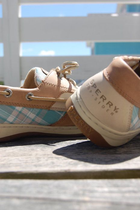 Sperrys!  I am in love...all colors, all types.   They sell them at the block in Orange. I love these