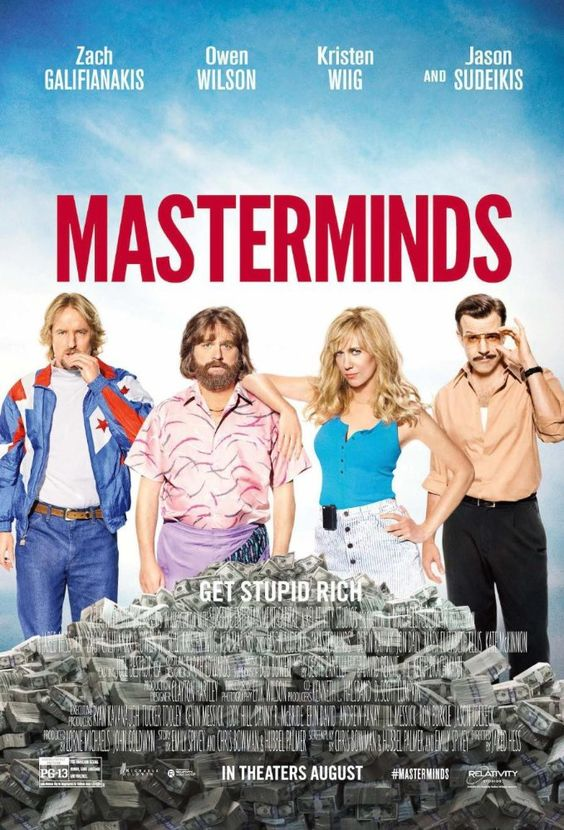 Masterminds (BluRay)