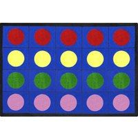 Classroom Seating Rugs - Circle Time Made Easy | SensoryEdge - Free Shipping