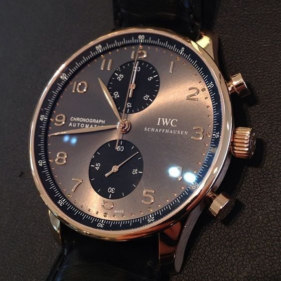 My #IWC watch in an alluring color. Rose gold? http://www.thesterlingsilver.com/product/versace-mens-23c80d008-s009-v-race-chrono-black-dial-rose-gold-plated-genuine-leather-watch/ http://www.thesterlingsilver.com/product/hugo-boss-black-1513138-mens-watc