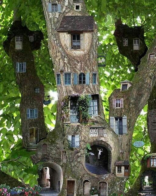 WOW WOW WOW, of a Tree House, amazing beauty.