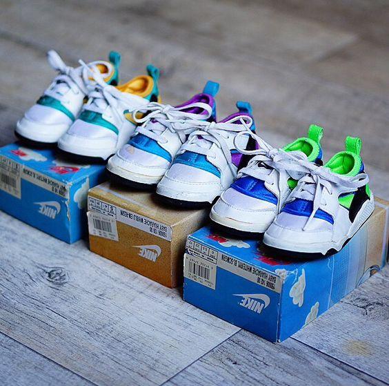 Nike Babies and Nike air huarache on Pinterest