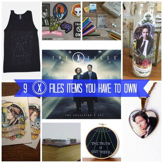 9 X Files Items You Have to Own