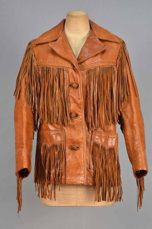 Jacket 1960s Whitaker Auctions Fringe Leather Jacket Western Fashion Jackets
