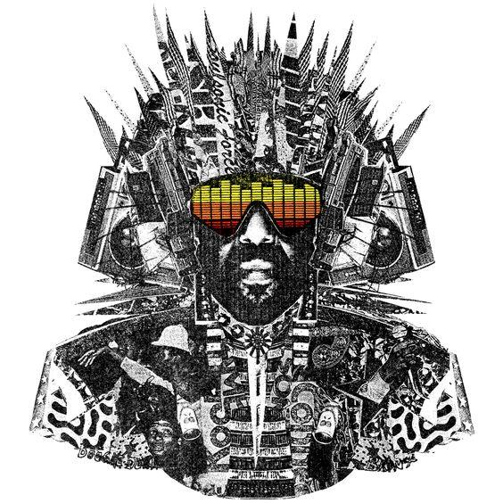 Afrika Bambaataa, King Kamozi – Got That Vibe (single cover art)