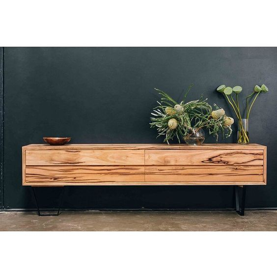 Footprint Furniture are in the business of creating unique and customisable furniture using gorgeous recycled timber.  And we love love all their pieces including this credenza (on SALE now!) Search 'Footprint' for the full range of dining and coffee tables cabinets beds and bathroom vanities.