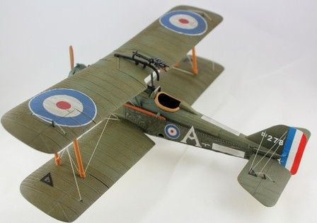 S.E.5a D 276, No.74 Sqn. RAF, Spring 1918, Captain E. Mick Mannock 1:30 John Jenkins Designs JJ-ACE-08