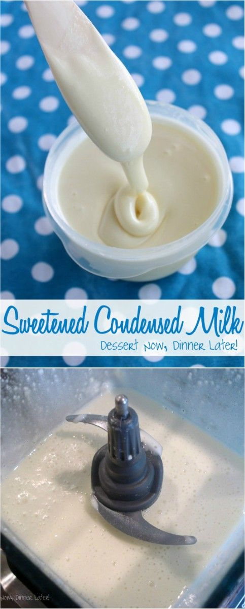 This Easy Homemade Sweetened Condensed Milk Recipe Can Be Made With Y Condensed Milk Recipes Homemade Sweetened Condensed Milk Sweetened Condensed Milk Recipes