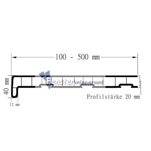 Kunststoff-Fensterbank-innen-PVC-Innenfensterbank-Marmor-Tiefe-100-mm-500-mm