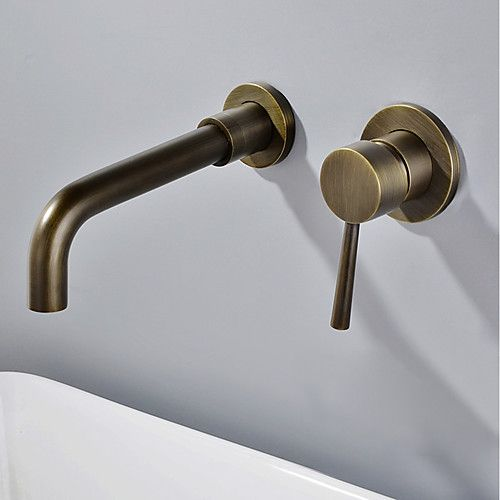 brass bathroom sink faucet