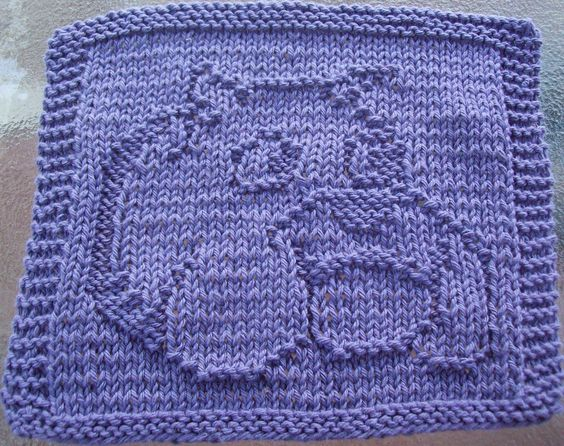 Knit dishcloth, Knit dishcloth patterns and Dishcloth on Pinterest