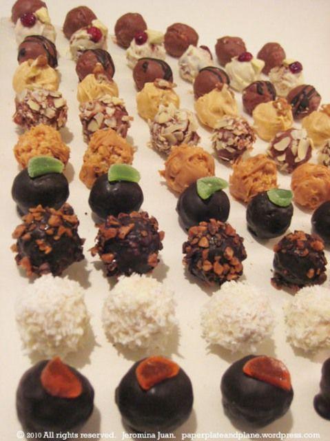 """grown-up rice krispie treats (a.k.a. """"po' boy truffles"""""""
