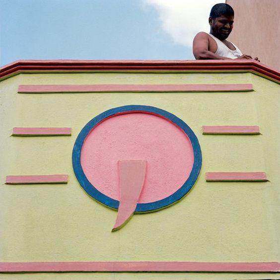 Τα απίστευτα χρωματιστά σπίτια της πόλης Tiruvannamalai της Ινδίας