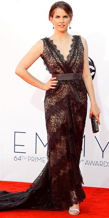 Anna Chlumsky at the Emmy Awards 2012