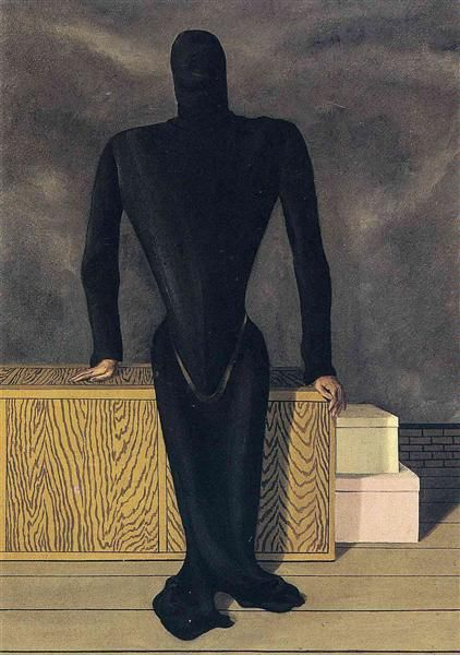 The female thief (La Voleuse)- Rene Magritte, 1927.