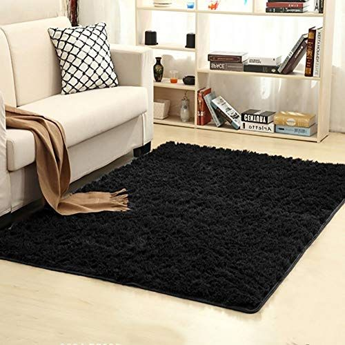 Junovo Oval Fluffy Ultra Soft Area Rugs For Bedroom Plush Shaggy