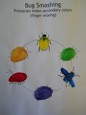 Bug Smashing : primary & secondary colors